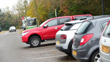 Mitsubishi L200 long-term test - parking