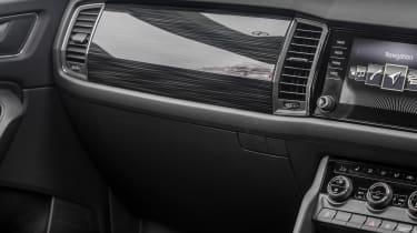Skoda Kodiaq - interior detail