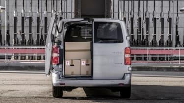 Toyota Proace electric - rear open