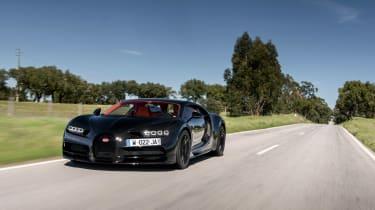 Bugatti Chiron - front tracking