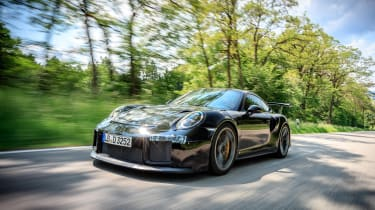 Porsche GT2 RS prototype - front