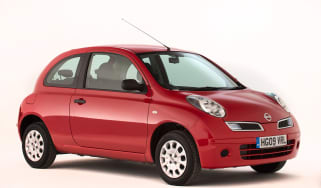 Used Nissan Micra - front
