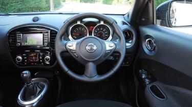 New Nissan Juke 2014 interior