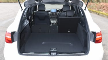 Mercedes GLC 350d - boot