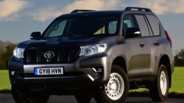 Toyota Land Cruiser Utility Commercial - front static