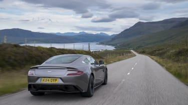 Aston Martin Vanquish rear - Footballers' cars