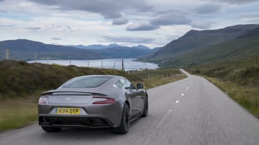 Aston Martin Vanquish rear - Footballers' cars