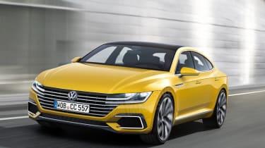 VW Passat CC watermarked render