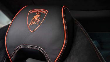 Lamborghini Huracan Evo - seat detail