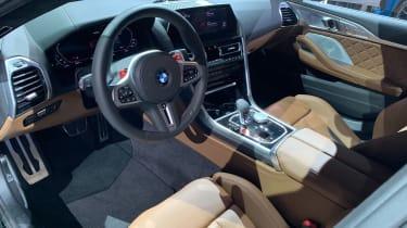 BMW M8 Gran Coupe - Los Angeles dash