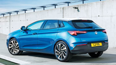 Vauxhall Astra - exclusive image rear (watermarked)
