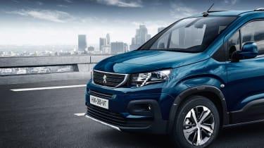 Peugeot Rifter - front detail