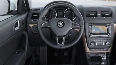 Skoda Yeti 2014 1.2 TSI interior