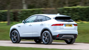 Jaguar E-Pace D150 - rear action