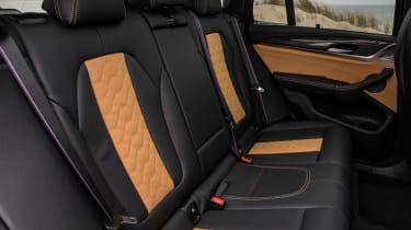 BMW X3 M - rear seats