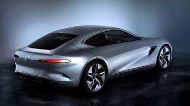 Pininfarina HK GT concept - Geneva rear