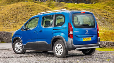 Peugeot Rifter Allure BlueHDI diesel rear end