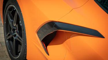 Chevrolet Corvette Convertible - side air intake