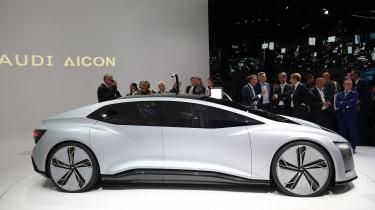Audi Aicon concept - Frankfurt show side
