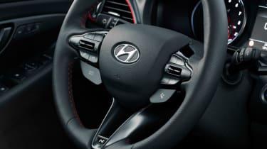 Hyundai i30 N Fastback - steering wheel