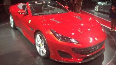Ferrari Portofino - Frankfurt side/front