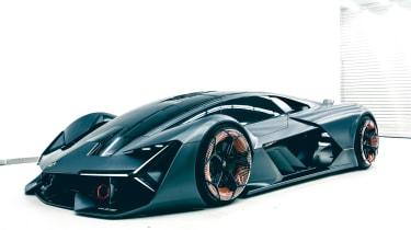Lamborghini Terzo Millennio - front static