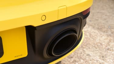 Porsche 911 - exhaust