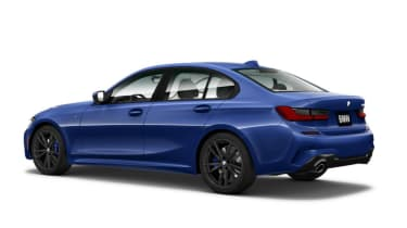 Leaked BMW 3 Series - rear
