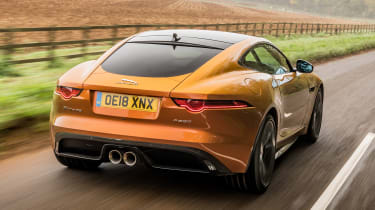 Jaguar F-Type P380 - rear