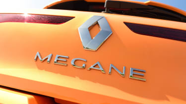 Renault Megane R.S. - Megane badge