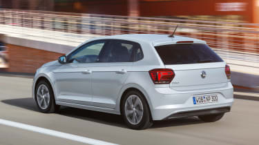 New Volkswagen Polo Beats - rear action