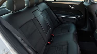 Used Mercedes E-Class - rear seats