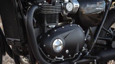 Triumph Bonneville T120 review - engine close up