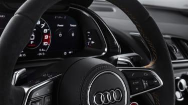 Audi R8 V10 Decennium - steering wheel