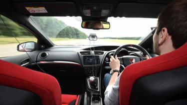 Honda Civic Type R long term - Johnny driving