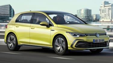 Volkswagen Golf R-Line - front tracking