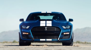 Ford Mustang Shelby GT500 - full front static