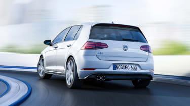 New 2017 Volkswagen Golf GTE - rear action