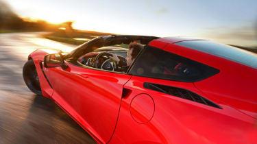 Chevrolet Corvette Stingray UK rig