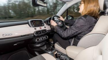 Fiat 500X long termer - Dawn driving
