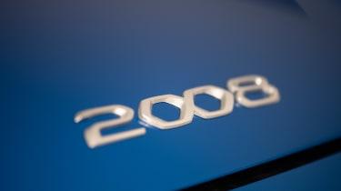 Peugeot e-2008 - 2008 badge
