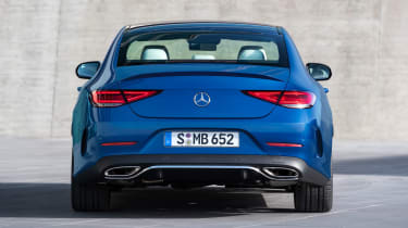 Mercedes CLS - full rear