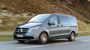 Mercedes V-Class facelift - front