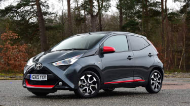 Toyota Aygo - front static