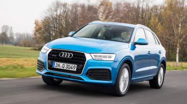 New Audi Q3 2015 front