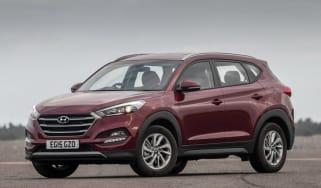 Used Hyundai Tucson - front static