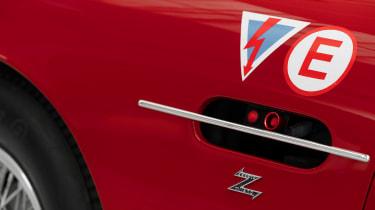 Aston Martin DB4 GT Zagato Continuation - side detail