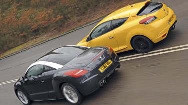 Peugeot RCZ vs. Renaultsport Megane