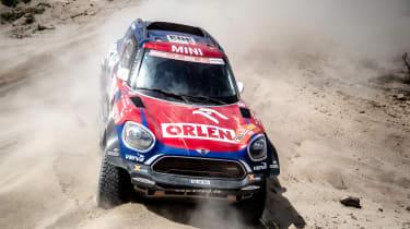 Dakar Rally - front