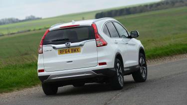 Honda CR-V - rear cornering